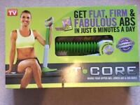 T.core work out machine