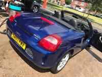 Toyota MR2 1.8VVT-i Automatic SMG gearbox same as BMW M3 with flappy paddles on steering