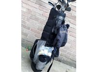 Newbery Donnay and Dunlop golf clubs and accessories