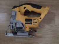 Dewalt XRP DC330 jigsaw with blade, £45 no offers