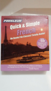 PIMSLEUR Quick & Simple French CDs