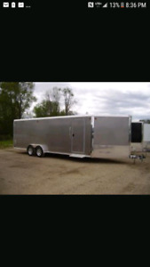 Wanted to rent : 16 to 25 foot long enclosed trailer