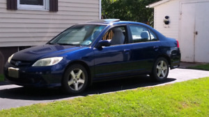 Selling a 2004 Honda Civic SI