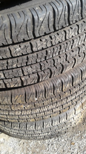 P195 65 R15 4 All Seasons and 4 Winter tires