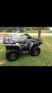 2007 browning edition 500ho Polaris Sportman