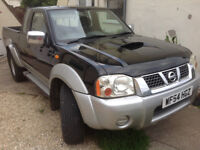 2004 54 Nissan Navara pick up 2.5Di 4x4 - Recent Engine & Clutch change. 2 Owners, 9Mths MOT Offers