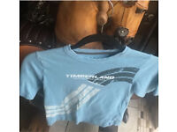 Timberland t shirt age:8 yrs