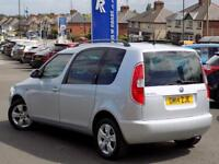 SKODA ROOMSTER 1.2 SE TSI 5d 85 BHP * Pan Roof + Only 20000 miles (silver) 2014