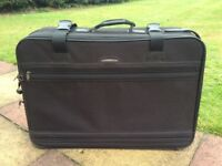 Black Carlton suitcase new