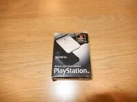 Boxed vintage Original Sony Playstation Memory Card - PS1