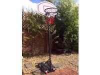 Like NEW! Portable Basketball Hoop/Kids Toys