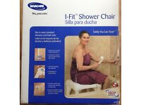 Invacare I-Fit Shower Chair. Only used once or twice.