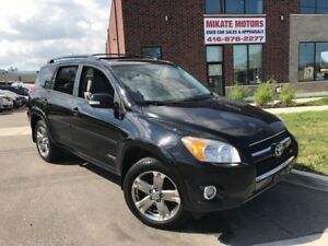 GORGEOUS 2009 TOYOTA  RAV4 LIMITED $11,999.00 CERTIFIED