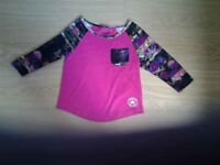 Girls Converse All Star top age 8-10yrs