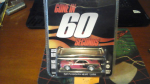 GREENLIGHT Hollywood Gone in 60 Seconds 71 Plymouth Hemi Cuda
