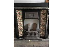 Complete Cast Iron Fire surround with grate