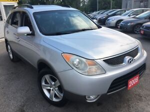 2008 Hyundai Veracruz Limited/AWD/7PASS/LEATHER/ROOF/DVD/ALLOY