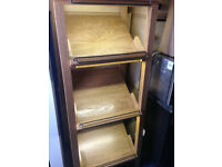 wooden display stand 4 shelves ideal for home shop cafe restaurant shop retail shelf with lighting