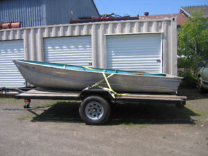 14' light weight aluminum boat for sale