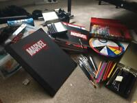 Draw the Marvel Way collection issues #1-33 complete