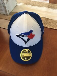 Toronto blue jays fitted hat new size 7 1/8