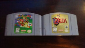 N64 Games for Sale/Trade
