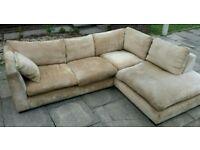 Corner sofa twill free delivery