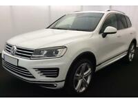 VOLKSWAGEN TOUAREG 3.0 V6 TDI 245/262 ALTITUDE R LINE ESCAPE FROM £160 PER WEEK!