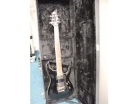 ESP-LTD guitar with EMG pick-ups and Floyd Rose Special, and Hardcase