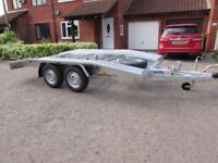 Car Transporter Trailer Recovery 2700kg GVW 4.0 m long