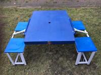 Camping table (folds up)