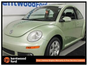 2007 Volkswagen New Beetle 2.5. A beetle? In green? with a sunro