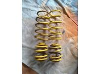 Clio lowering springs