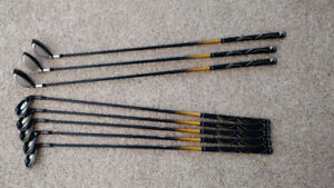 Cobra S3 Graphite Shaft Irons and Hybrids set - right handed