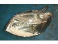 Peugeot Partner Citroen Berlingo Passenger Headlight