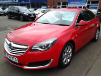 Vauxhall Insignia 2.0 CDTi [140] ecoFLEX Tech Line [Start Stop] (HALF LEATHER+SA