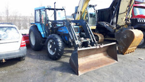 Landini Blizzard 85hp, 4x4 with Loader, & snow blower