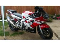 R6 5EB 2001 bike is in great condition. ready for mot