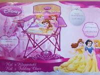 Brand new Kids / Childrens Disney Princess folding chair / camping chair