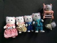 FOR SALE: Sylvanian Families Persian Cat Family