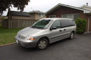 2001 Ford Windstar Minivan, Van