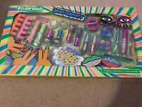 Flashmob zero gravity beauty set. New neon colours girls set make up