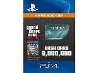 GTA v 8,000,000 shark card really cheap