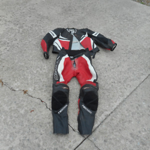 Motorcycle Boots and Racing Suit