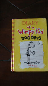 Dairy of whimpy kid