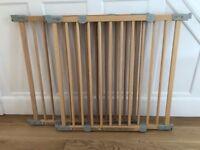 Wooden Stair Gates - 2x Adjustable width BabyDan stair gates, great condition