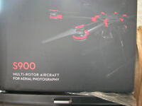 NEW-DJI S900 PROFESSIONAL AERIAL PHOTOGRAPHY DRONE PLATFORM,ONLY BEEN OUT OF THE BOX THREE TIMES