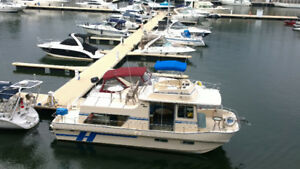 In water now in Montreal 38' Coastal Barracuda