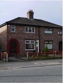 3 bed house to rent in Latchford Village, Warrington. Parking, garden, storage.