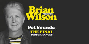 Front Row seats for Brian Wilson September 16